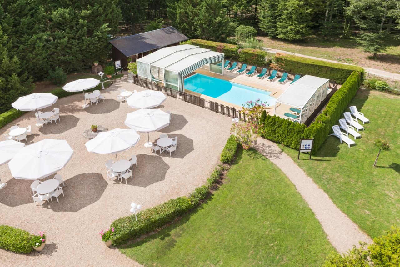 Hotel Relais des Landes - Swimming Pool